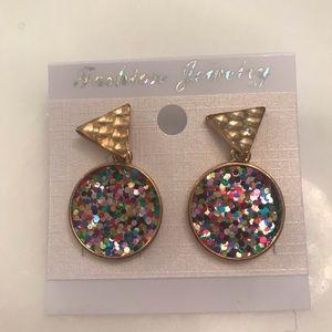BNWT Glitter Earrings